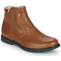 kengät Tytöt Bootsit GBB NOUGATINE Ruskea