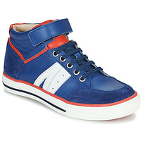 kengät Pojat Korkeavartiset tennarit GBB ALIMO Blue