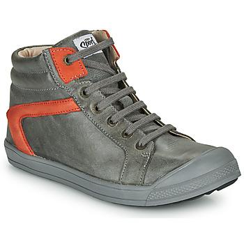 kengät Pojat Korkeavartiset tennarit GBB IWEN Grey