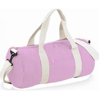 laukut Matkakassit Bagbase BG140 CLassic Pink/White