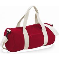laukut Matkakassit Bagbase BG140 Classic Red/Off White