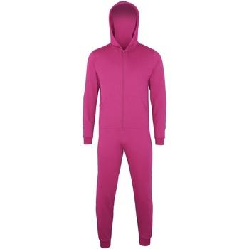 vaatteet Lapset pyjamat / yöpaidat Colortone CC01J Hot Pink
