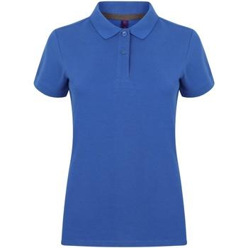 vaatteet Naiset Lyhythihainen poolopaita Henbury HB102 Royal