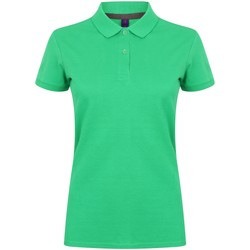 vaatteet Naiset Lyhythihainen poolopaita Henbury HB102 Kelly