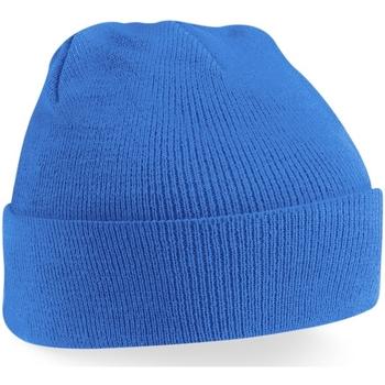 Asusteet / tarvikkeet Pipot Beechfield Soft Feel Sapphire Blue