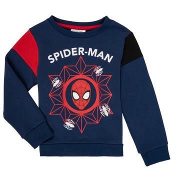 vaatteet Pojat Svetari TEAM HEROES SPIDERMAN SWEAT Laivastonsininen