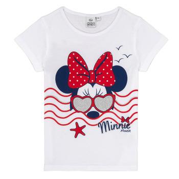 vaatteet Tytöt Lyhythihainen t-paita TEAM HEROES MINNIE White