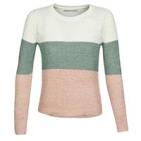 vaatteet Naiset Neulepusero Only ONLGEENA Beige / Vaaleanpunainen