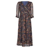 vaatteet Naiset Pitkä mekko Vero Moda VMGLAMMY Laivastonsininen