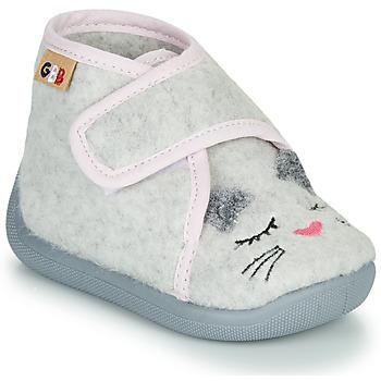 kengät Tytöt Tossut GBB HELORIE Grey