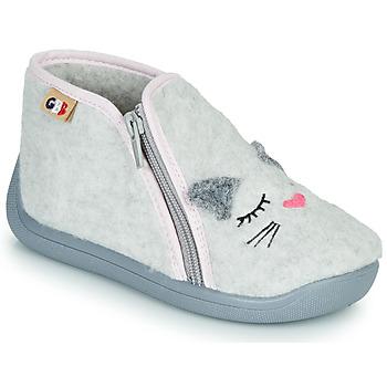 kengät Tytöt Tossut GBB CORI Harmaa