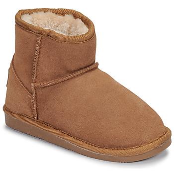 kengät Tytöt Bootsit Les Tropéziennes par M Belarbi FLOCON Kamelinruskea