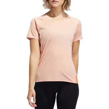 vaatteet Naiset Lyhythihainen t-paita adidas Originals 25/7 Rise Up N Run Parley Tee EI6305