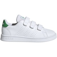 kengät Lapset Matalavartiset tennarit adidas Originals Advantage C Valkoiset