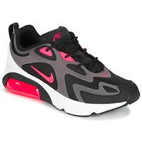 kengät Miehet Matalavartiset tennarit Nike AIR MAX 200 Black / Pink
