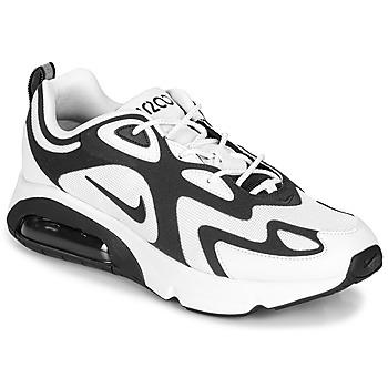 kengät Miehet Matalavartiset tennarit Nike AIR MAX 200 White / Black