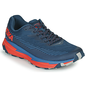 kengät Miehet Matalavartiset tennarit Hoka one one TORRENT 2 Blue / Red