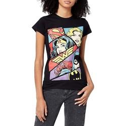 vaatteet Naiset Lyhythihainen t-paita Justice League  Black
