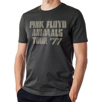 vaatteet Miehet Lyhythihainen t-paita Pink Floyd  Black