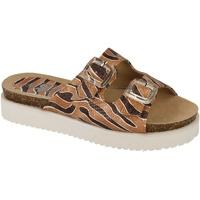 kengät Naiset Sandaalit Down To Earth  Tan/Brown