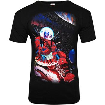 vaatteet Lyhythihainen t-paita Deadpool  Black