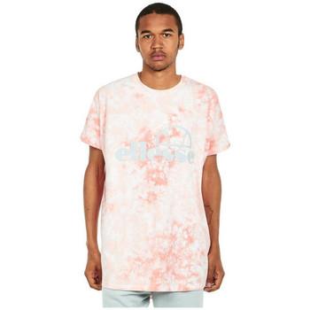 vaatteet Miehet Lyhythihainen t-paita Ellesse T-shirt  Starezzo rose pâle/blanc