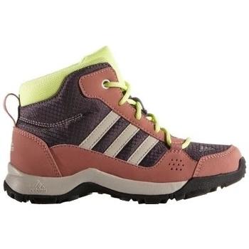 kengät Lapset Vaelluskengät adidas Originals Performance Hiperhiker Ruskeat