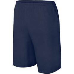 vaatteet Lapset Shortsit / Bermuda-shortsit Proact Short enfant Jersey  Sport bleu marine