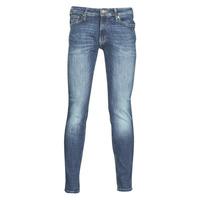 vaatteet Miehet Slim-farkut Jack & Jones JJILIAM Blue