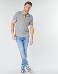 vaatteet Miehet Slim-farkut Jack & Jones JJILIAM Sininen / Clear