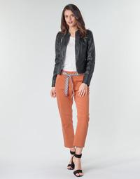 vaatteet Naiset Chino-housut / Porkkanahousut Vero Moda VMSVEA Orange