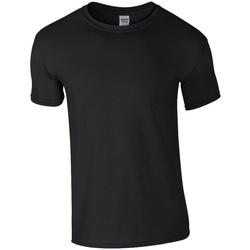 vaatteet Miehet Lyhythihainen t-paita Gildan GD01 Black