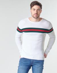 vaatteet Miehet Neulepusero Yurban MIRANDA Valkoinen