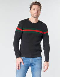 vaatteet Miehet Neulepusero Casual Attitude BAOLI Black