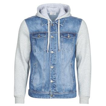 vaatteet Miehet Farkkutakki Yurban LAURYNE Blue