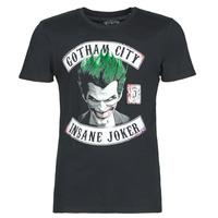 vaatteet Miehet Lyhythihainen t-paita Casual Attitude INSANE JOKER Black