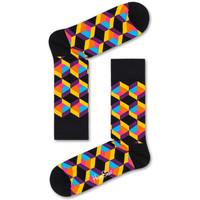 Asusteet / tarvikkeet Miehet Sukat Happy Socks Optiq square sock Monivärinen