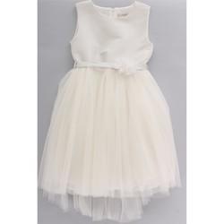 vaatteet Lapset kokonaisuus Bella Brilli BB203038 Avorio