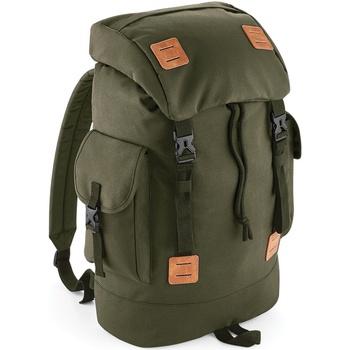 laukut Reput Bagbase BG620 Military Green/Tan