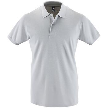 vaatteet Miehet Lyhythihainen poolopaita Sols PERFECT COLORS MEN Gris