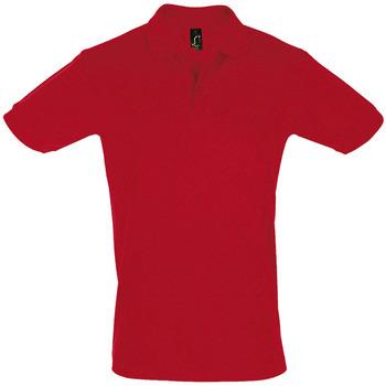 vaatteet Miehet Lyhythihainen poolopaita Sols PERFECT COLORS MEN Rojo