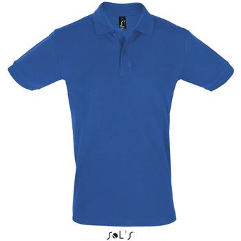 vaatteet Miehet Lyhythihainen poolopaita Sols PERFECT COLORS MEN Azul
