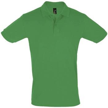 vaatteet Miehet Lyhythihainen poolopaita Sols PERFECT COLORS MEN Verde