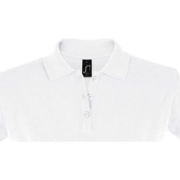 vaatteet Naiset Lyhythihainen poolopaita Sols PERFECT COLORS WOMEN Blanco