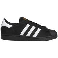 kengät Miehet Skeittikengät adidas Originals Superstar adv Musta