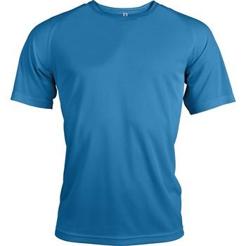 vaatteet Miehet Lyhythihainen t-paita Proact T-Shirt manches courtes  Sport bleu ciel