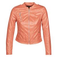 vaatteet Naiset Nahkatakit / Tekonahkatakit Vero Moda VMAWARDALMA Orange