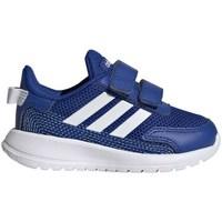 kengät Pojat Juoksukengät / Trail-kengät adidas Originals Tensaur Run I Vaaleansiniset