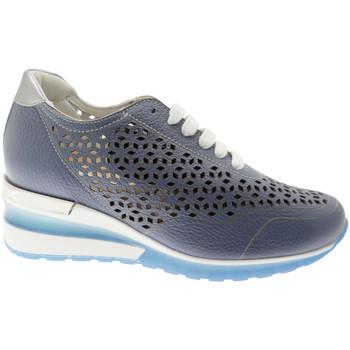 kengät Naiset Matalavartiset tennarit Calzaturificio Loren CLORA1041bl blu