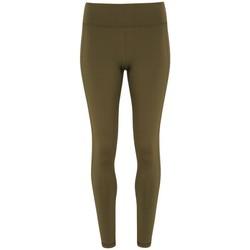 vaatteet Naiset Legginsit Tridri TR031 Olive